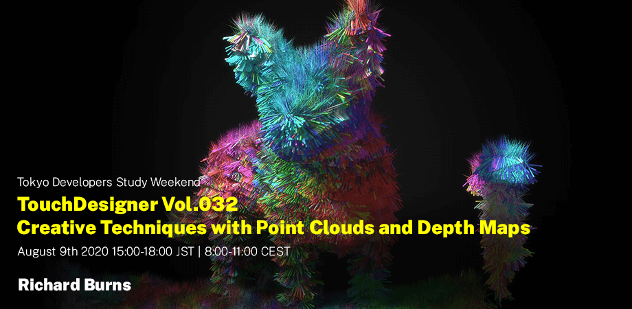 TouchDesigner Vol.032 Creative Techniques with Point Clouds and Depth Maps