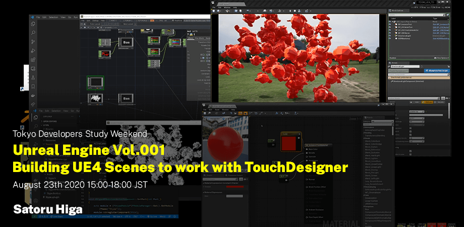 Unreal Engine Vol.001 Building UE4 Scenes to work with TouchDesigner